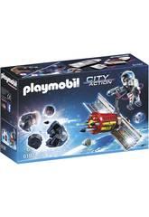 imagen Playmobil Satelite con Laser para Meteoritos