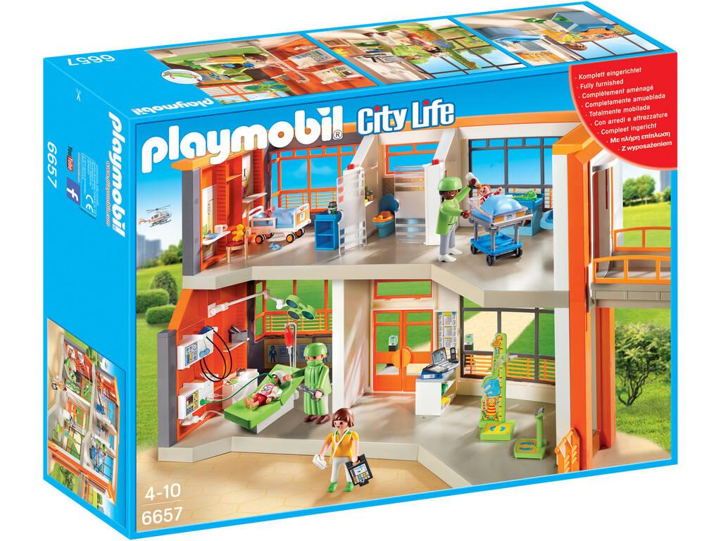 Playmobil Ospedale Piedratico attrezzato