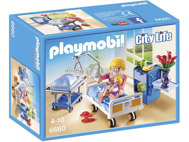 Playmobil Nursery con Mamma E Neonato