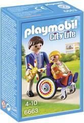 imagen Playmobil Niño en Silla de Ruedas