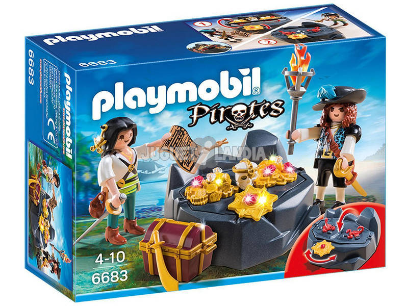 Playmobil Balsa Pirata 6682