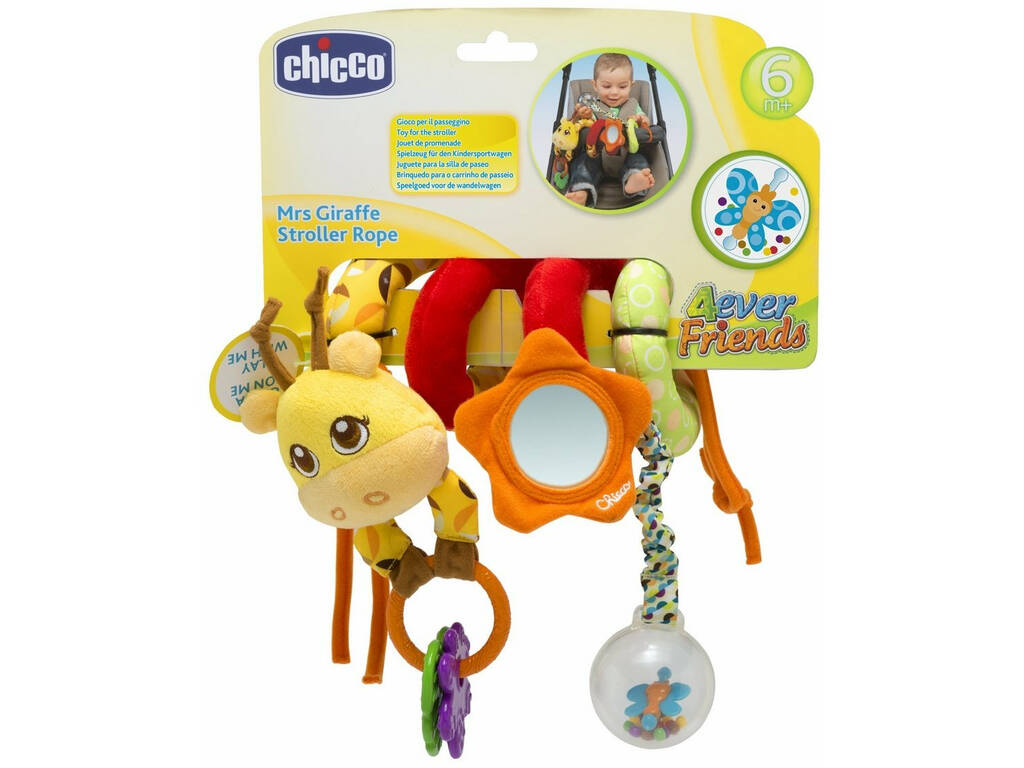 Mr. Giraffe Stroller Rope