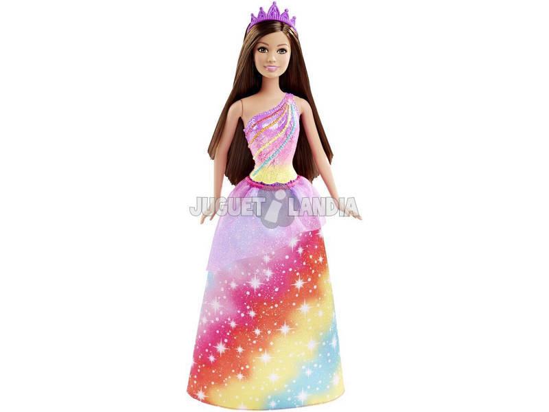 Barbie Princesas. Mattel DHM49