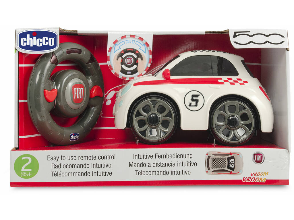 Fiat 500 Sport Radiocomando Infantile