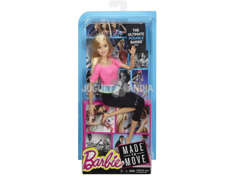 Barbie Movimientos Sin Límites Mattel DHL81