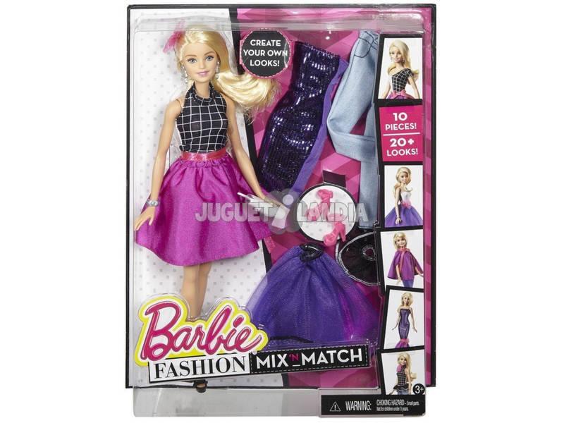 Moda Mezcla Y Combina Barbie