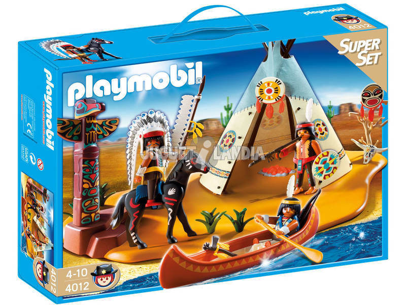 Playmobil superset Campement Indien