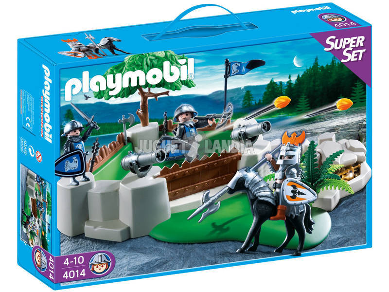 Playmobíl superset bastion de los Caballeros