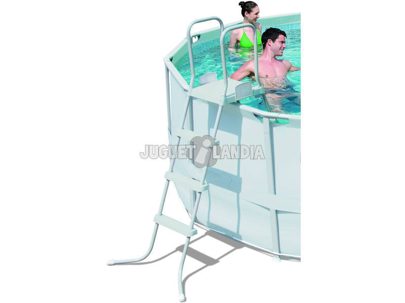 Acheter piscine d montable 427x122 cm bestway 56283 for Piscine demontable