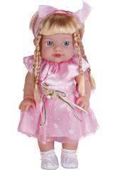 Puppe 36 cm. Vinyl Prinzessin