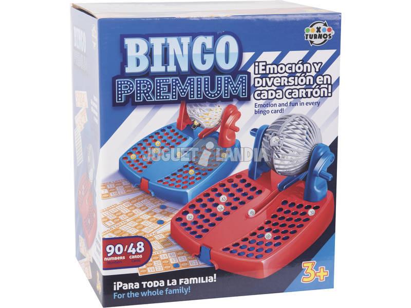 Bingo Lotería con 90 numeros y 48 cartones