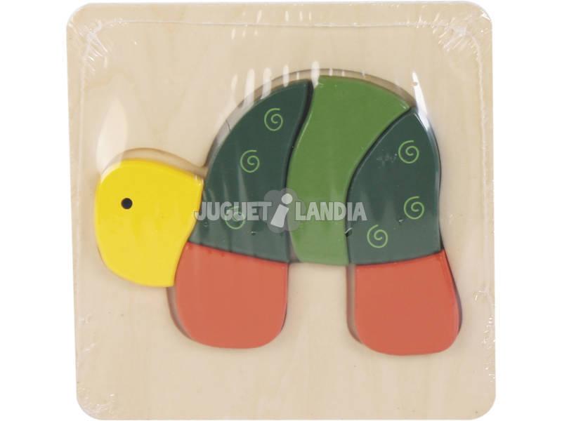 Puzzle Madera Tortuga