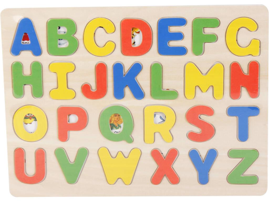 Puzzle Madera Letras Mayúsculas