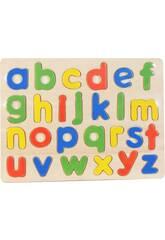 Puzzle Madeira Letras Minúsculas