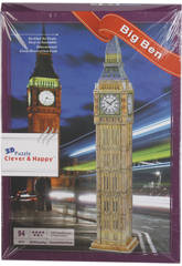 Puzzle 3D Big Ben 94 piezas