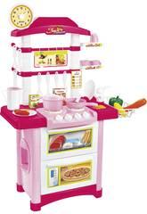 Cocina 32 piezas Rosa