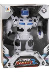 Super Robot Luces y Sonidos Blanco
