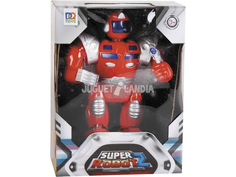 Super Robot Rojo Luces y Sonidos 25x19x7cm