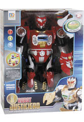 Robot Infrarojos Justice 38 cm. Rojo