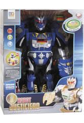 Robot Infrarouge Justice 38 cm Bleu