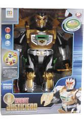 Robot Infrarouge Justice 38 cm Doré