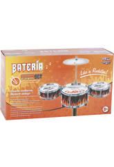 Bateria Jazz 3 Tambores y Platillos