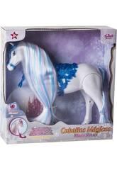 Cavalo Azul Mágico com Sons