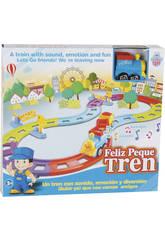 Pista Treno Azzuro Felice con Suoni