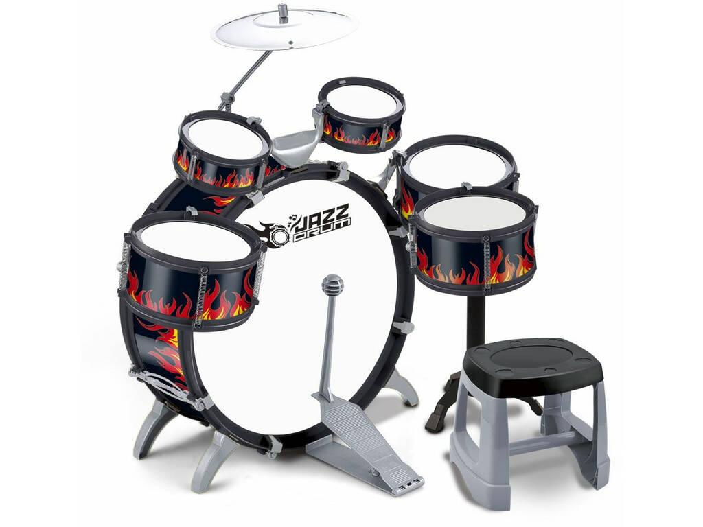 Bateria Jazz 5 Tambores y Platillos