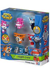 Superwings Figuras Pack 4+4