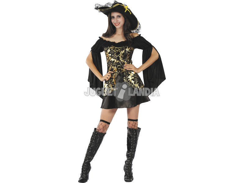 Disfraz Capitana Pirata Mujer Talla M