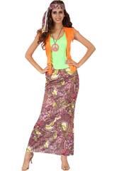 imagen Disfraz Hippie Chica Mujer Talla S