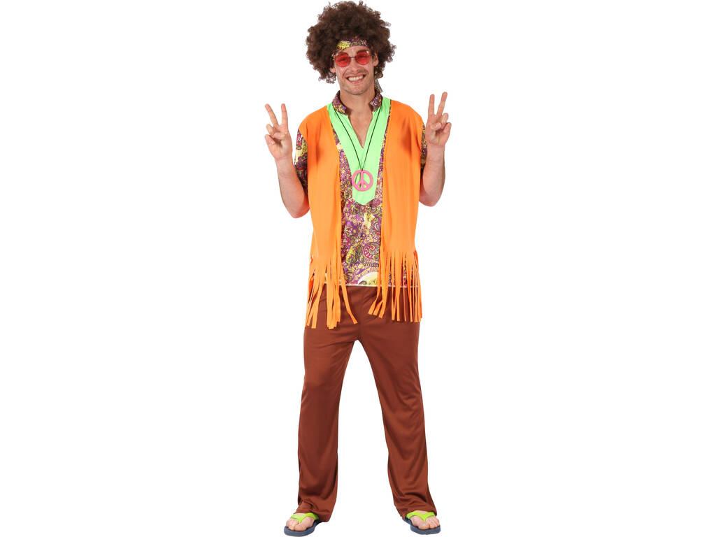 Disfraz Hippie para Hombre Talla M