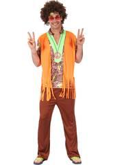 imagen Disfraz Hippie para Hombre Talla L