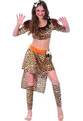 Disfraz Cavernicola Mujer Talla S