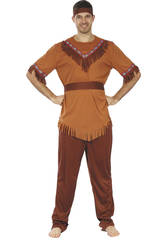 Disfraz Indio para Hombre Talla M