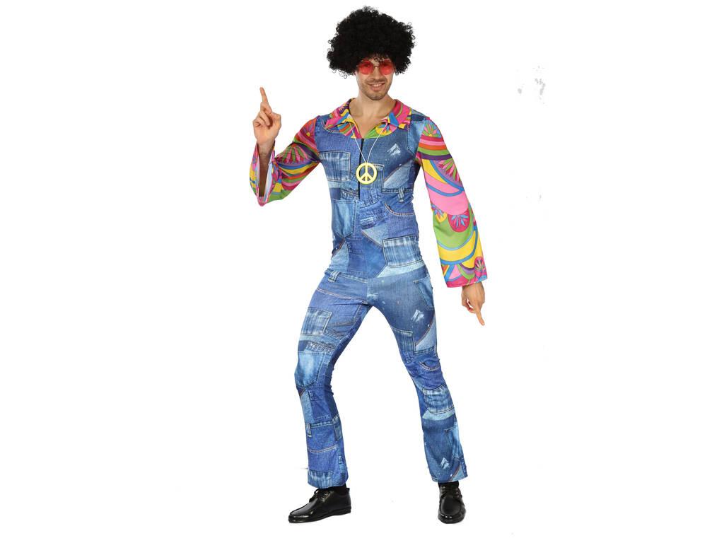 Disfraz Hippie Vaquero para Hombre Talla XL