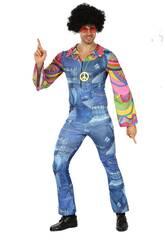 imagen Disfraz Hippie Vaquero para Hombre Talla XL
