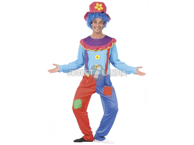 Disfraz Payaso para Hombre Talla L