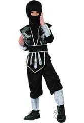 imagen Disfraz Guerrero Ninja Niño Talla XL