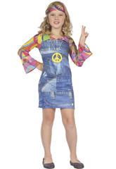 Déguisement Hippie Imit.Jean's Taille M