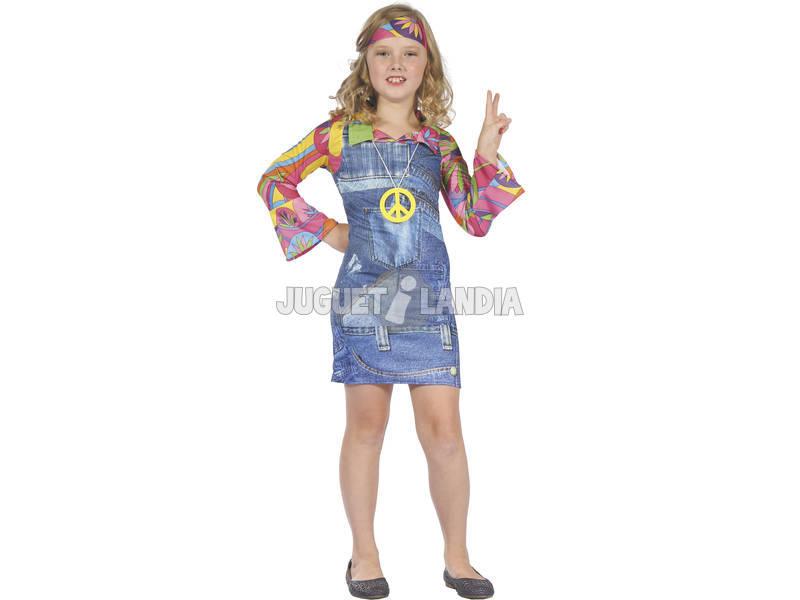 f64736d8c1 Disfraz Hippie Vaquera Niña Talla XL - Juguetilandia