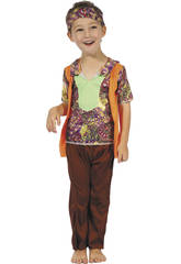 Costume Hippy Bimbo M