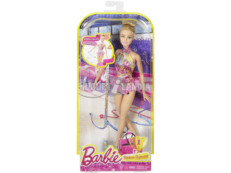 Barbie Ginnastica Ritmica 1,Multicolore