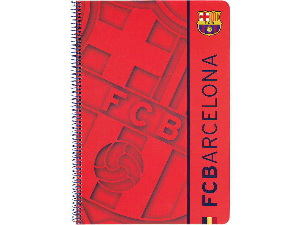 Libreta Folio Tapas Duras 80 h. FCB 2ª Equipacion