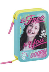 Plumier Doble 34 Soy Luna Be Free