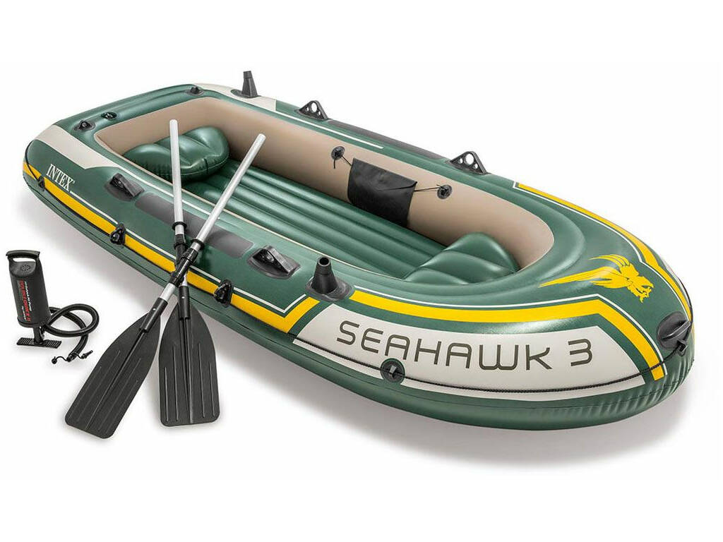 Barca Hinchable Seahawk 3 295x137x43cm Intex 60380NP