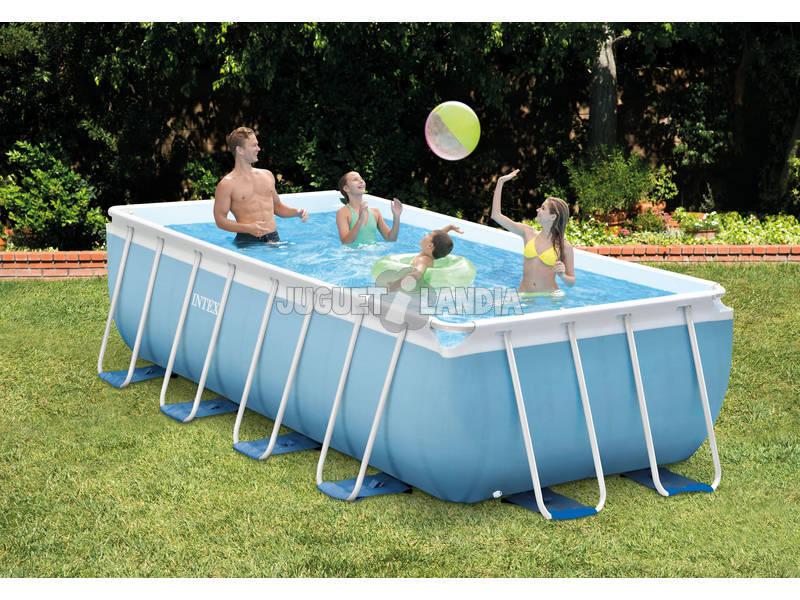 Acheter piscine hors sol prism frame 488x244x107 cm intex for Acheter piscine intex