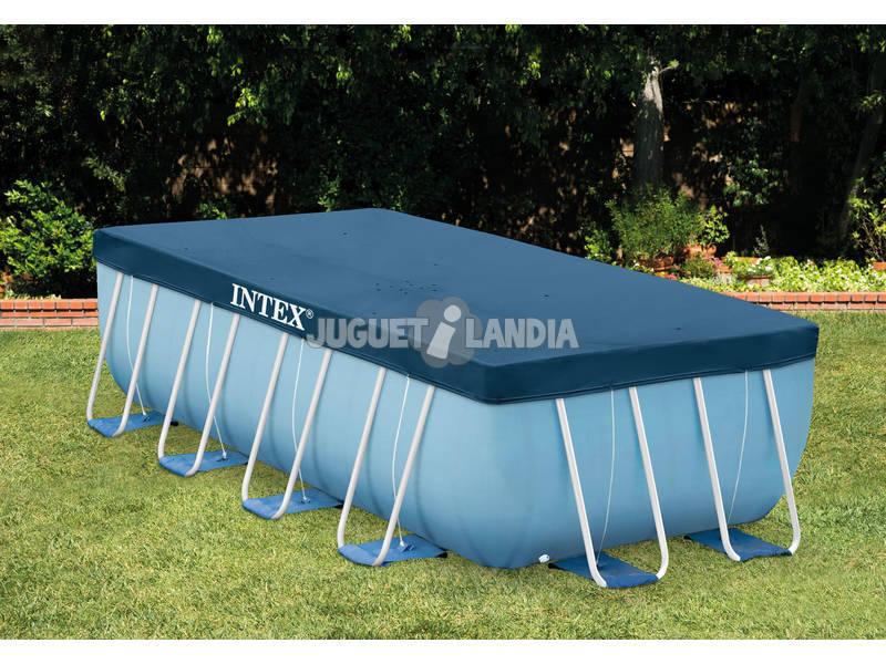 Acheter piscine hors sol prism frame 488x244x107 cm intex for Acheter piscine hors sol