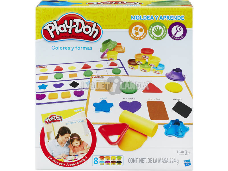 Play-doh Shape and learn colori e forme Hasbro B3404